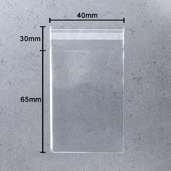 Crystal Clear Cellophane Bags Choose Size//Qty