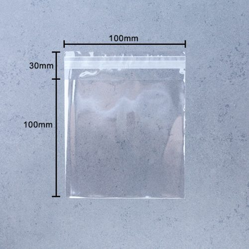 Pack of 1000 30mm Flap 40 Micron Cello Size 157mm x 210mm Cellophane Artist Display Bags Self Seal A5